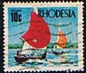 Rhodesia 1970 Yachting SG 445 Fine Used