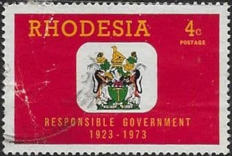 Rhodesia 1973 Responsible Government SG 485 Fine Used