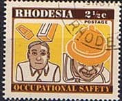 Rhodesia 1975 Occupational Safety SG 520 Fine Used