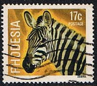 Rhodesia 1978 Wild Animals SG 564 Fine Used
