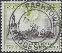 Rhodesia and Nyasaland 1959 SG 29 Rhodes Statue Fine Used