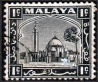 Selangor 1935 Mosque at Klang SG  68 Fine Used