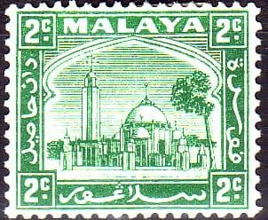 Postage Stamps Selangor 1935 Mosque at Klang SG 69 Fine Mint  SG 69 Scott 46 Other British Commonwealth Empire and Colonial stamps for sale Here