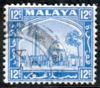 Postage Stamps Selangor 1935 Mosque at Klang SG 75 Fine Used  SG 77 Scott 52