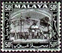 Selangor 1935 Mosque at Klang SG 82 Fine Used