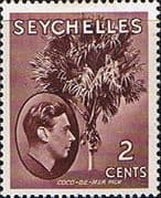 Seychelles 1938 King George VI SG 135 Fine Mint