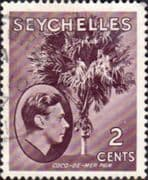 Seychelles 1938 King George VI SG 135 Fine Used