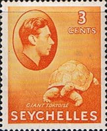 Stamp Stamps Seychelles 1938 King George VI SG 136a Fine Mint Scott 127