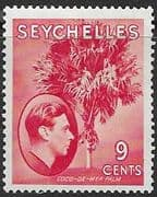 Seychelles 1938 King George VI SG 138 Fine Mint