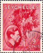 Seychelles 1938 King George VI SG 138 Fine Used