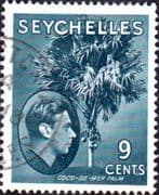 Seychelles 1938 King George VI SG 138a Fine Used