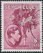 Seychelles 1938 King George VI SG 139cd Fine Used