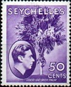 Seychelles 1938 King George VI SG 144 Fine Mint