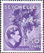 Seychelles 1938 King George VI SG 144b Fine Used
