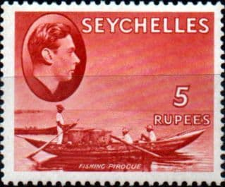 Stamps Stamp Seychelles 1938 King George VI SG 146a Fine Mint Scott 145