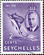 Seychelles 1952 King George VI SG 148 Fine Used