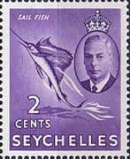 Seychelles 1952 King George VI SG 158 Fine Mint