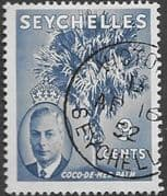 Seychelles 1952 King George VI SG 160 Fine Used