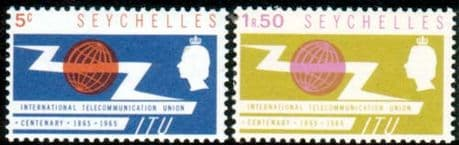 Seychelles Stamps International Telecomunication Union