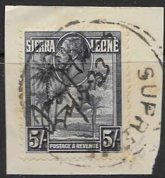 Sierra Leone 1932 King George V Rice Field SG 164 Fine Used Scott 149