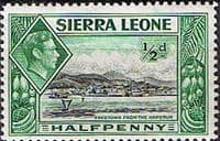 Sierra Leone 1938 SG 188 Freetown from the Harbour Fine Mint