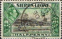 Sierra Leone 1938 SG 188 Freetown from the Harbour Fine Used