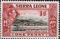 Sierra Leone 1938 SG 189 Freetown from the Harbour Fine Mint