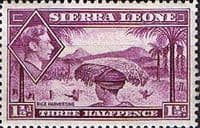 Sierra Leone 1938 SG 190a Rice Harvesting Fine Mint