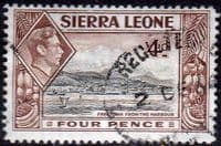 Sierra Leone 1938 SG 193 Freetown from the Harbour Fine Used