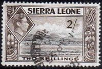 Sierra Leone 1938 SG 197 Freetown from the Harbour Fine Used