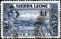 Sierra Leone 1938 SG 200 Freetown From Harbour Fine Used