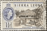 Sierra Leone 1956 SG 212 Piassava Workers Fine Used