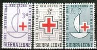 Sierra Leone 1963 Red Cross Centenary Set Fine Mint