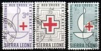 Sierra Leone 1963 Red Cross Centenary Set Fine Used