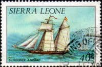Sierra Leone 1984 History of Shipping SG  827A Fine Used