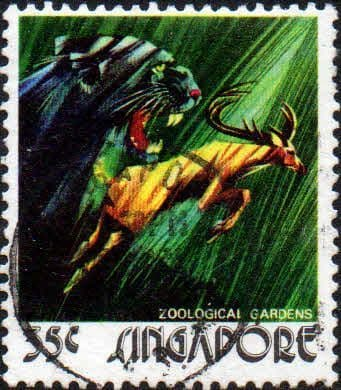 Singapore 1973 Zoological Gardens SG 227 Fine Used