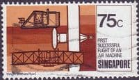 Singapore 1978 Aviation SG 342 Fine Used