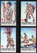 Singapore 1982 Boy Scout Movement Set Fine Mint
