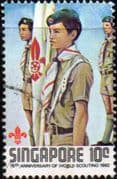 Singapore 1982 Boy Scout Movement SG 435 Fine Used