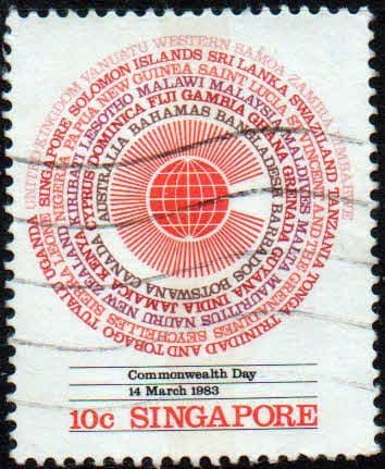 Singapore 1983 Commonwealth Day SG 443 Fine Used