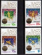 Singapore 1983 South-East Asia Games Set Fine Mint
