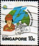 Singapore 1985 Girl Guide Movement SG 512 Fine Used