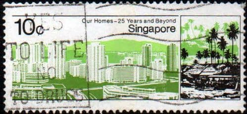 Singapore 1985 Housing and Development Board SG 507 Fine Used