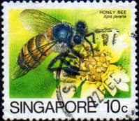 Singapore 1985 Insects SG 492 Fine Used