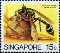 Singapore 1985 Insects SG 493 Fine Used