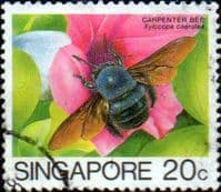 Singapore 1985 Insects SG 494 Fine Used