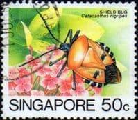 Singapore 1985 Insects SG 497 Fine Used