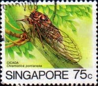 Singapore 1985 Insects SG 498 Fine Used
