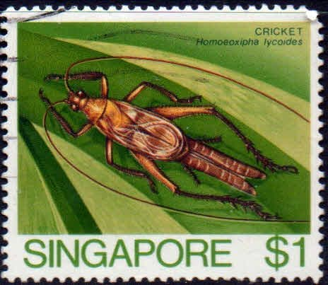 Singapore 1985 Insects SG 499 Fine Used