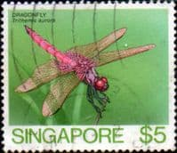 Singapore 1985 Insects SG 501 Fine Used